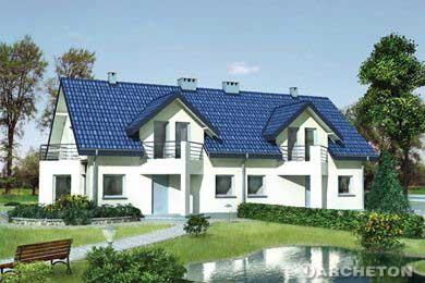 Modele case poze cu proiecte case schite case for Modele de duplex
