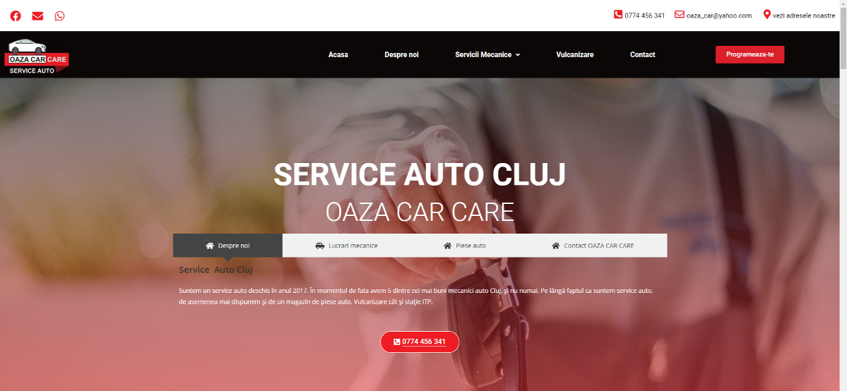 Service Auto Cluj - Oaza Car Care